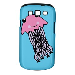 Jellyfish Cute Illustration Cartoon Samsung Galaxy S Iii Classic Hardshell Case (pc+silicone)