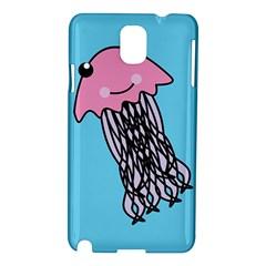 Jellyfish Cute Illustration Cartoon Samsung Galaxy Note 3 N9005 Hardshell Case