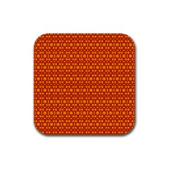 Pattern Creative Background Rubber Coaster (square)