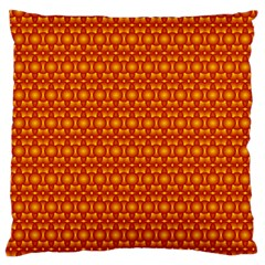 Pattern Creative Background Large Flano Cushion Case (two Sides)