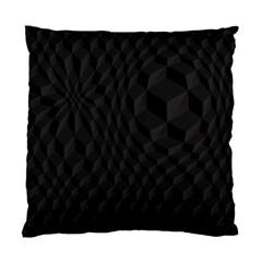 Pattern Dark Black Texture Background Standard Cushion Case (one Side)