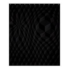Pattern Dark Black Texture Background Shower Curtain 60  X 72  (medium)