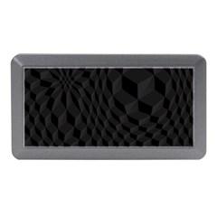 Pattern Dark Black Texture Background Memory Card Reader (mini)
