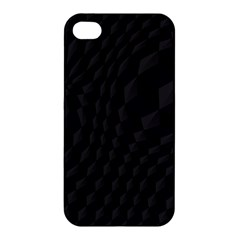 Pattern Dark Black Texture Background Apple Iphone 4/4s Hardshell Case