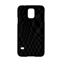 Pattern Dark Black Texture Background Samsung Galaxy S5 Hardshell Case