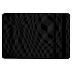 Pattern Dark Black Texture Background Ipad Air Flip