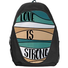 Love Sign Romantic Abstract Backpack Bag