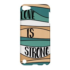 Love Sign Romantic Abstract Apple Ipod Touch 5 Hardshell Case