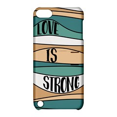 Love Sign Romantic Abstract Apple Ipod Touch 5 Hardshell Case With Stand