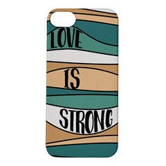 Love Sign Romantic Abstract Apple Iphone 5s/ Se Hardshell Case