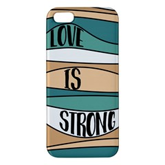 Love Sign Romantic Abstract Iphone 5s/ Se Premium Hardshell Case