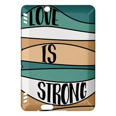Love Sign Romantic Abstract Kindle Fire Hdx Hardshell Case