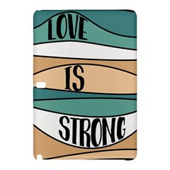 Love Sign Romantic Abstract Samsung Galaxy Tab Pro 12 2 Hardshell Case