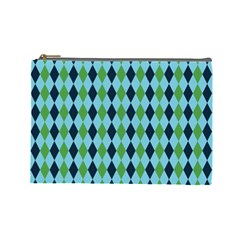 Rockabilly Retro Vintage Pin Up Cosmetic Bag (large)