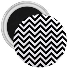 Wave Background Fashion 3  Magnets