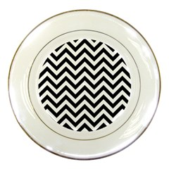 Wave Background Fashion Porcelain Plates