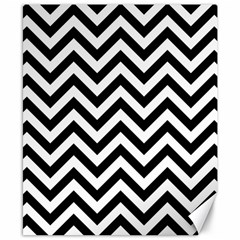 Wave Background Fashion Canvas 8  X 10