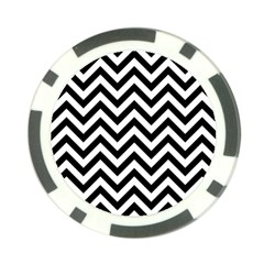 Wave Background Fashion Poker Chip Card Guard