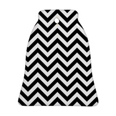Wave Background Fashion Ornament (bell)