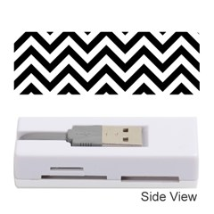 Wave Background Fashion Memory Card Reader (stick)