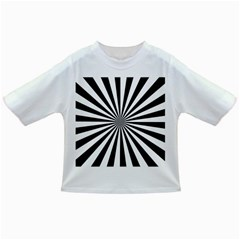 Rays Stripes Ray Laser Background Infant/toddler T Shirts