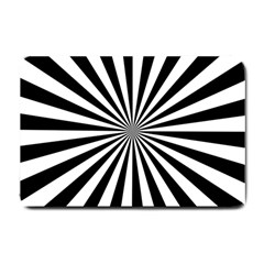 Rays Stripes Ray Laser Background Small Doormat