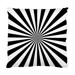 Rays Stripes Ray Laser Background Standard Cushion Case (two Sides)