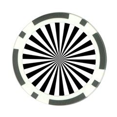 Rays Stripes Ray Laser Background Poker Chip Card Guard (10 Pack)