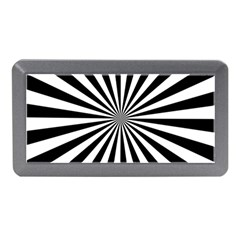 Rays Stripes Ray Laser Background Memory Card Reader (mini)