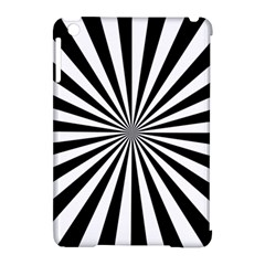Rays Stripes Ray Laser Background Apple Ipad Mini Hardshell Case (compatible With Smart Cover)