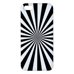 Rays Stripes Ray Laser Background Apple Iphone 5 Premium Hardshell Case
