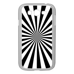 Rays Stripes Ray Laser Background Samsung Galaxy Grand Duos I9082 Case (white)