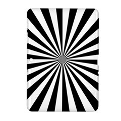 Rays Stripes Ray Laser Background Samsung Galaxy Tab 2 (10 1 ) P5100 Hardshell Case