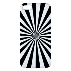 Rays Stripes Ray Laser Background Iphone 5s/ Se Premium Hardshell Case