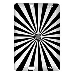 Rays Stripes Ray Laser Background Amazon Kindle Fire Hd (2013) Hardshell Case