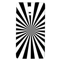 Rays Stripes Ray Laser Background Galaxy Note 4 Back Case