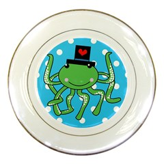 Octopus Sea Animal Ocean Marine Porcelain Plates