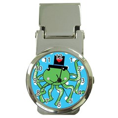 Octopus Sea Animal Ocean Marine Money Clip Watches