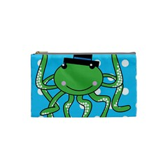 Octopus Sea Animal Ocean Marine Cosmetic Bag (small)