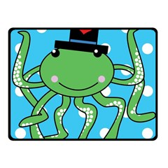 Octopus Sea Animal Ocean Marine Fleece Blanket (small)