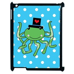 Octopus Sea Animal Ocean Marine Apple Ipad 2 Case (black)
