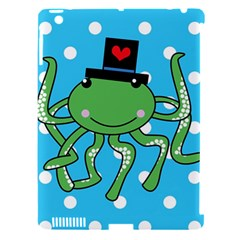 Octopus Sea Animal Ocean Marine Apple Ipad 3/4 Hardshell Case (compatible With Smart Cover)
