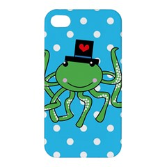 Octopus Sea Animal Ocean Marine Apple Iphone 4/4s Premium Hardshell Case