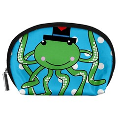 Octopus Sea Animal Ocean Marine Accessory Pouches (large)