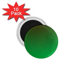 Course Colorful Pattern Abstract Green 1 75  Magnets (10 Pack)