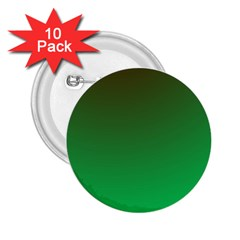 Course Colorful Pattern Abstract Green 2 25  Buttons (10 Pack)