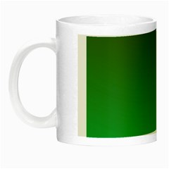 Course Colorful Pattern Abstract Green Night Luminous Mugs
