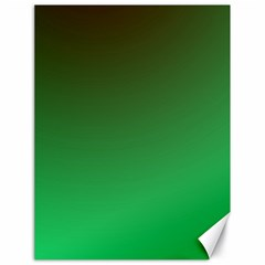 Course Colorful Pattern Abstract Green Canvas 18  X 24