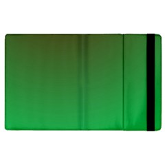 Course Colorful Pattern Abstract Green Apple Ipad 3/4 Flip Case
