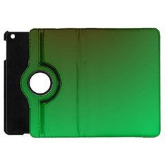 Course Colorful Pattern Abstract Green Apple Ipad Mini Flip 360 Case